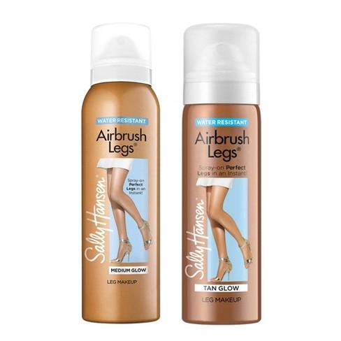 Sally Hansen Airbrush Legs Spray - 02 Medium Glow & 03 Tan Glow - 2pc/4.4 fl oz ea - image 1 of 3