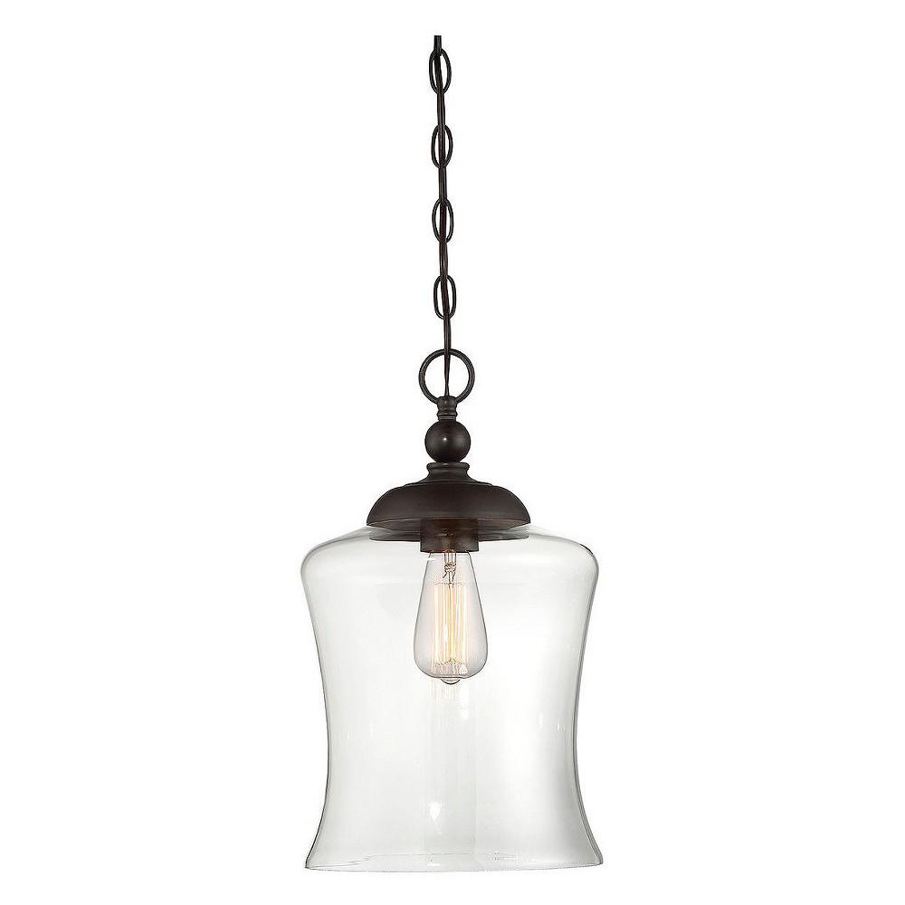 Image of Ceiling Lights Mini Pendant Oil Rubbed Bronze - Aurora Lighting