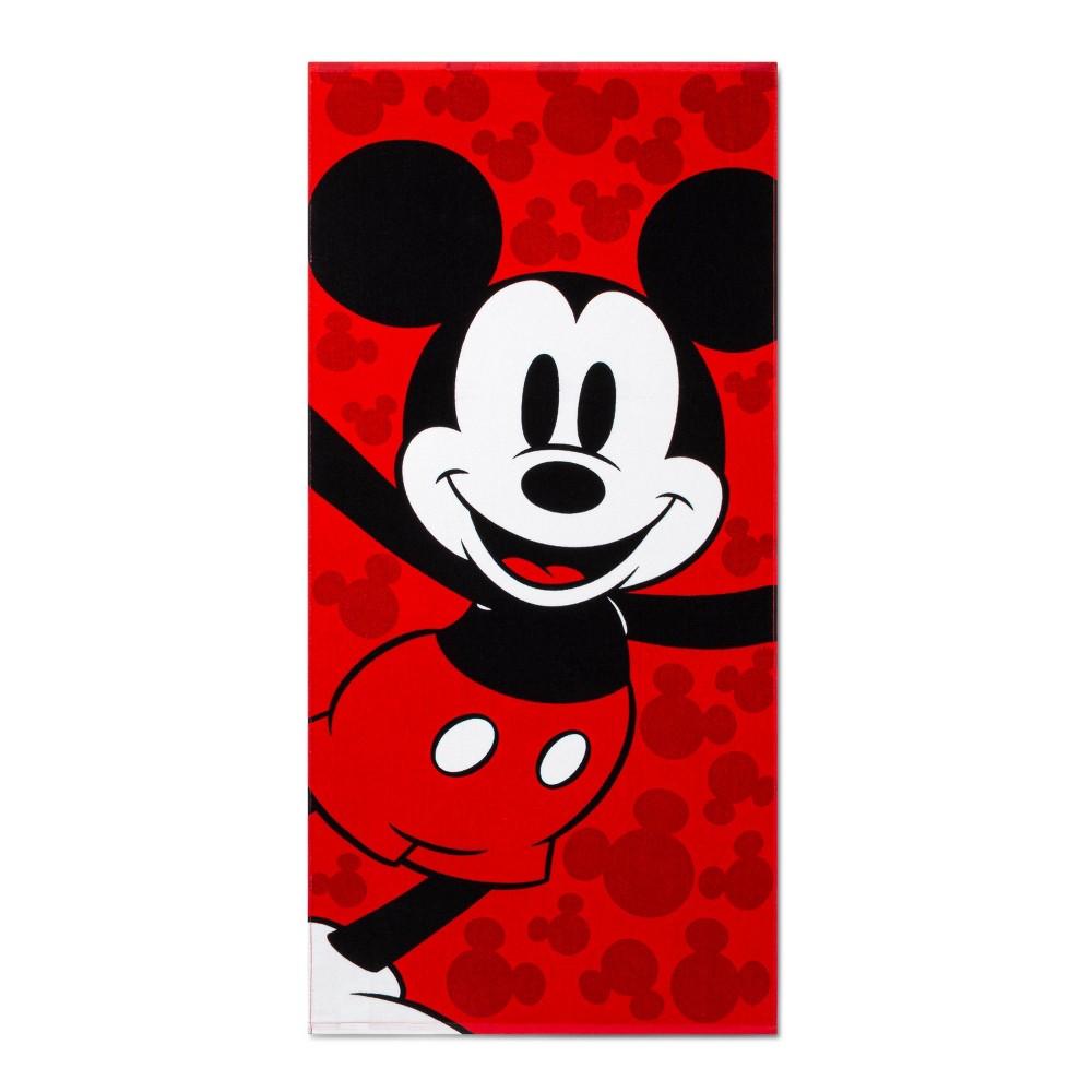 Image of Mickey Hooray Beach Towel