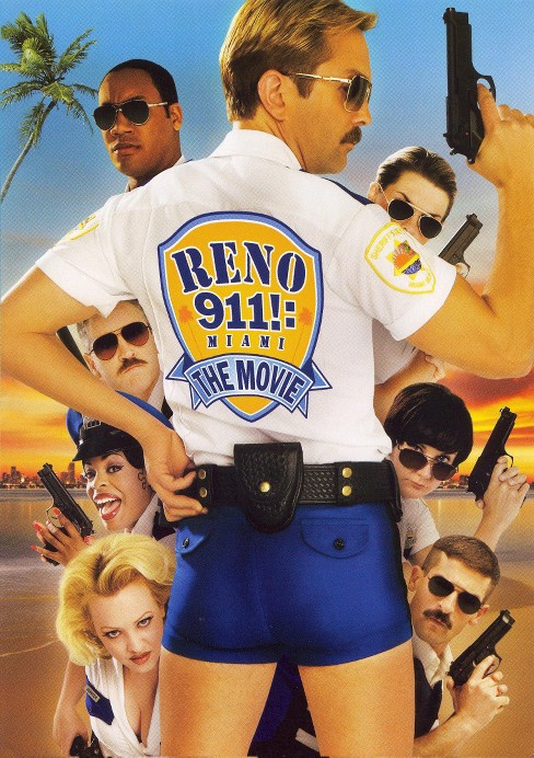 Reno 911!: Miami (Rated) (dvd_video) - image 1 of 1