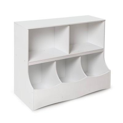 Badger Basket Multi-Bin Storage Cubby White