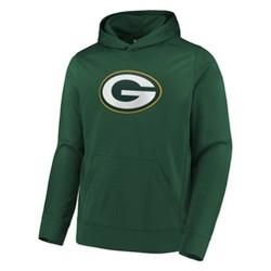 NFL Green Bay Packers Men's Linear Stripe Performance Hoodie