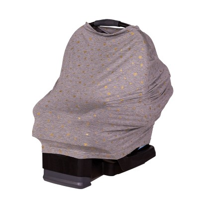J.L. Childress 4-in-1 Multi-Use Cover Gray Gold Stars