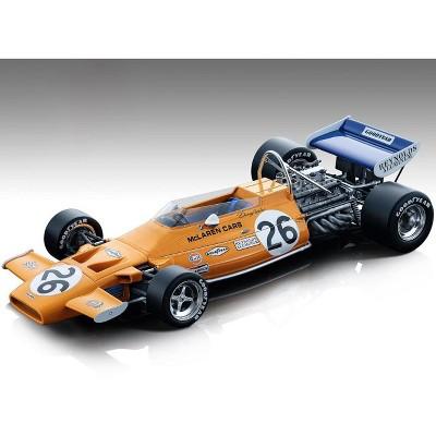 """McLaren M19A #26 Denny Hulme """"Gulf Oil"""" Formula One F1 Dutch GP 1971 """"Mythos Series"""" Ltd Ed 110 pcs 1/18 Model Car by Tecnomodel"""