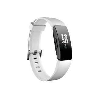 Fitbit Inspire HR Activity Tracker with Small & Large Band - White