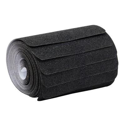 Stockroom Plus 10 Pack Adhesive Anti Slip Traction Tape, Black (6 x 28 in)
