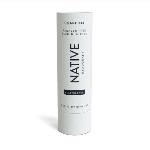 Native Plastic Free Charcoal Deodorant for Women - 2.65oz - image 1 of 4