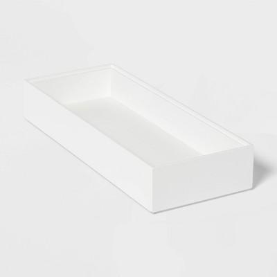 "6"" x 15"" Compartment Drawer White - Threshold™"