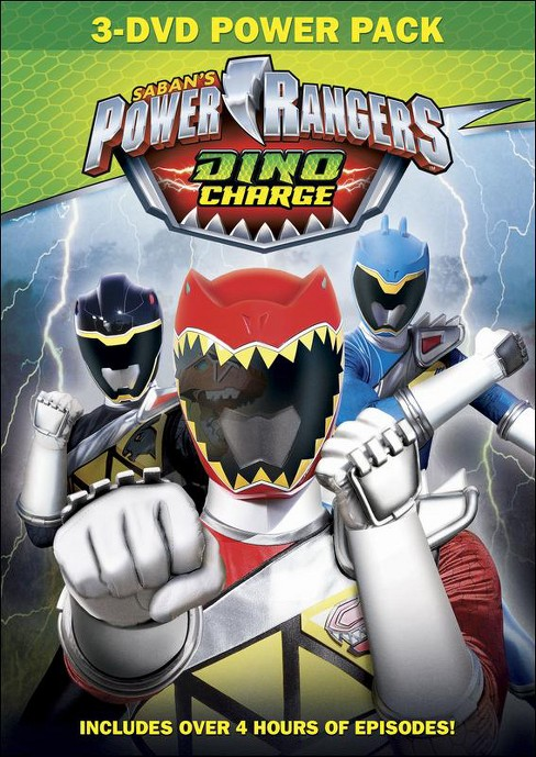 Power Rangers Dino Charge 3 Pack (DVD) - image 1 of 1
