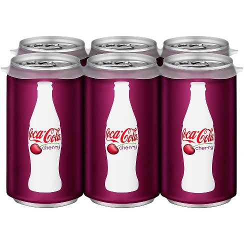Coca-Cola Cherry - 6pk/7.5 fl oz Mini-Cans - image 1 of 3