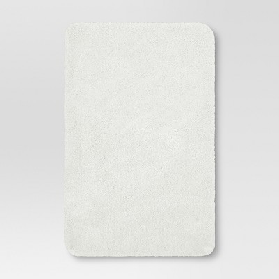 Solid Nylon Bath Rug True White - Threshold™
