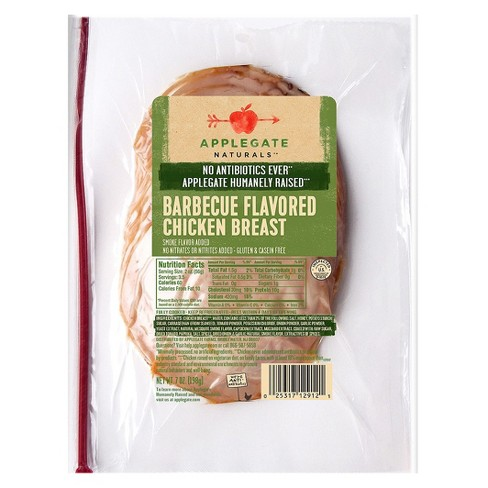 Applegate BBQ Chicken -7oz - image 1 of 1