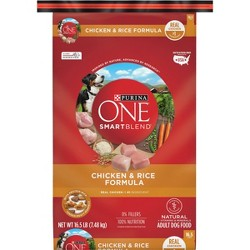 Purina ONE Adult SmartBlend Chicken and Rice Dry Dog Food