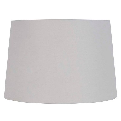 Large Light Mod Drum Lampshade Gray - Threshold™