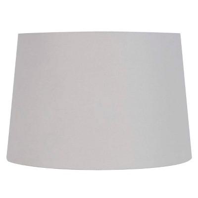 Large Light Mod Drum Lampshade Gray - Threshold™