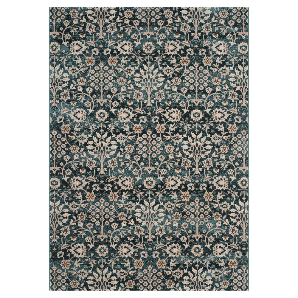 Pasquale Area Rug - Turquoise/Crème (8' X 10') - Safavieh, Turquoise/Ivory
