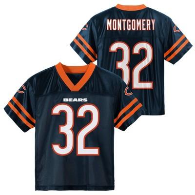 NFL Chicago Bears Boys' David Montgomery Short Sleeve Jersey