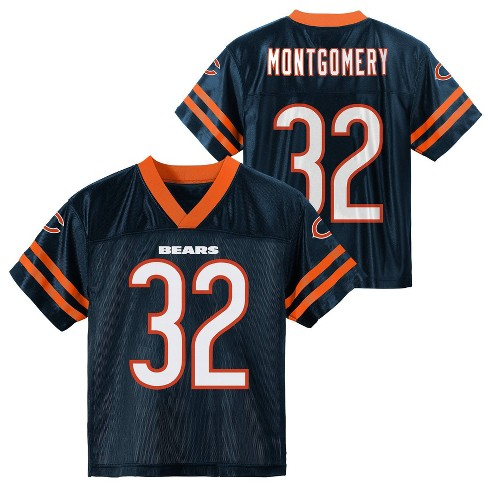 NFL Chicago Bears Boys' David Montgomery Short Sleeve Jersey - XS