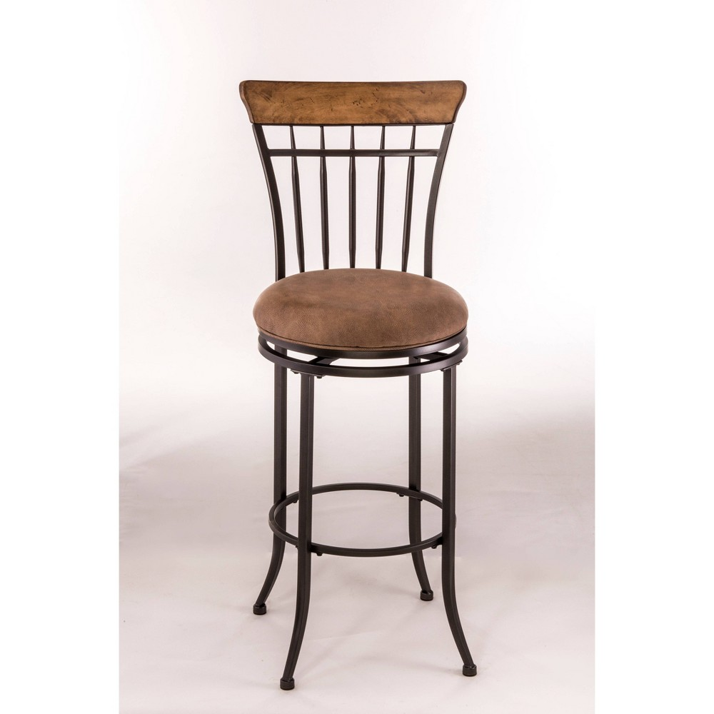 Tremendous Charleston Swivel 26 Counter Stool Metaldesert Tan Wood Gmtry Best Dining Table And Chair Ideas Images Gmtryco