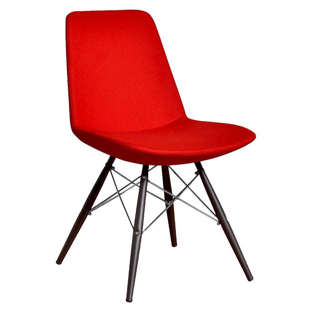 Aeon Paris Molded Foam Chair - Red (Set of 2)