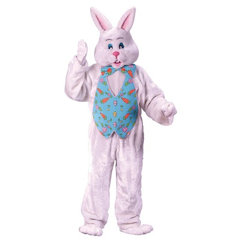 Adult Bunny Costume with Overhead Mask One Size Fits Most - image 1 of 1