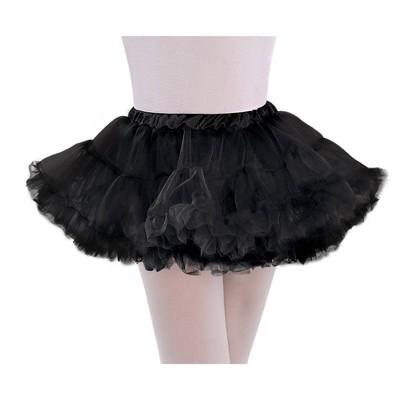 Kids' Petticoat Halloween Costume M/L - Black
