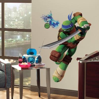 Teenage Mutant Ninja Turtles Leo Peel and Stick Giant Wall Decal - RoomMates