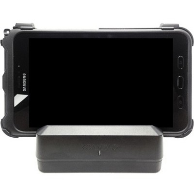 KoamTac KDC470-1SCC 1-slot Charging Cradle - Docking - Bar Code Scanner - Charging Capability - Pogo Pin - 2 x USB