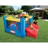 Little Tikes 630873C Junior Kids Sports 'n Slide Inflatable Outdoor Bounce House with Basketball Hoop, 3 Kid Capacity - image 2 of 4