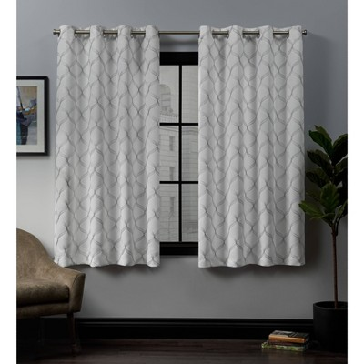 Amelia Grommet Top Blackout Window Curtain Panels - Exclusive Home