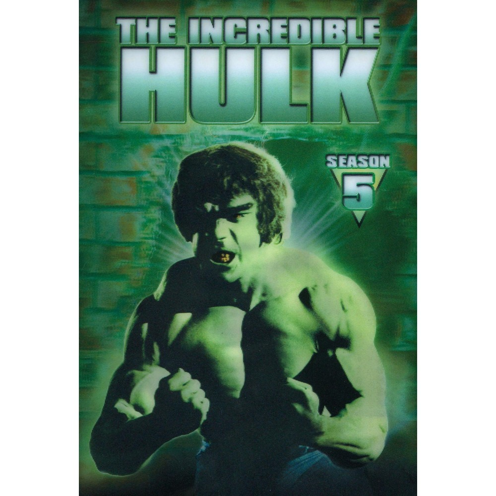 The Incredible Hulk: The Complete Fifth Season [2 Discs]