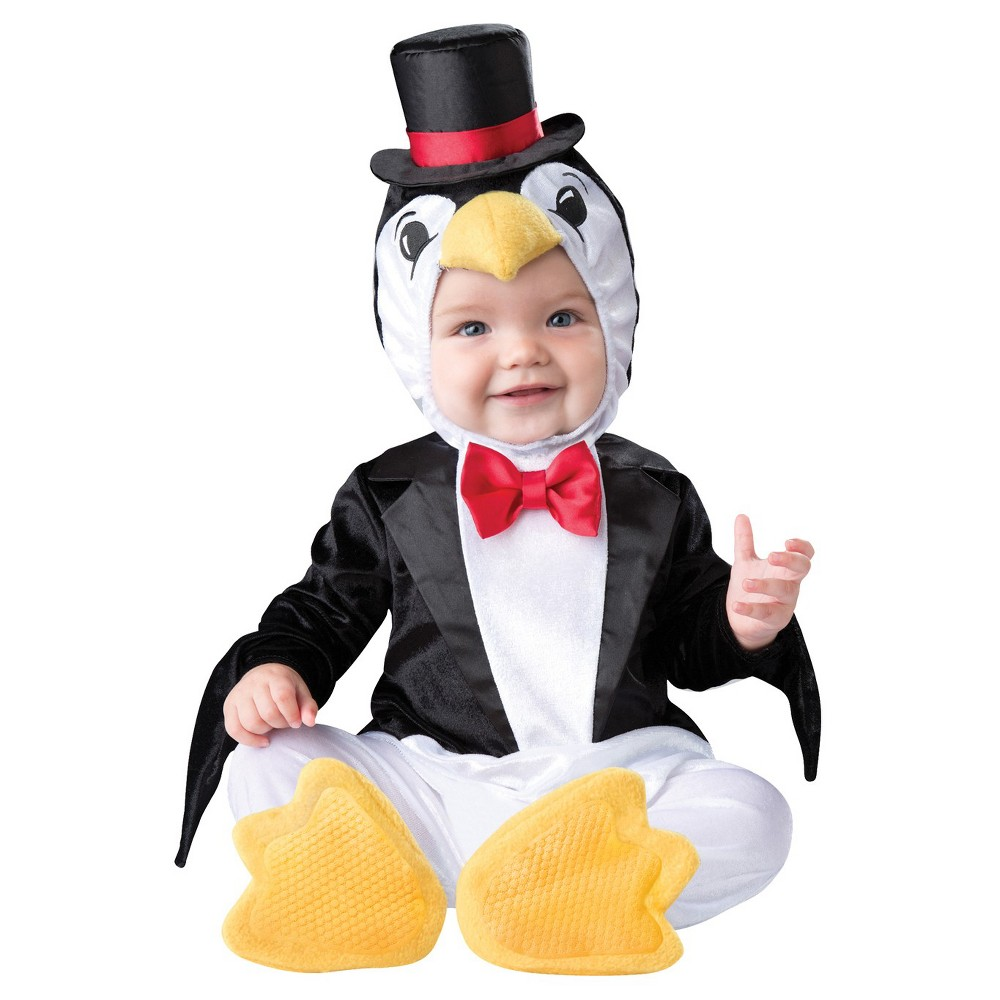 Image of Halloween Boys' Playful Penguin Toddler Costume 18-24 Months, Boy's, Size: 18-24M, MultiColored