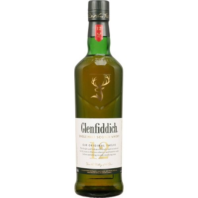 Glenfiddich Original 12yr Single Malt Scotch Whisky - 750ml Bottle