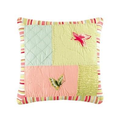 "C&F Home 14"" x 14"" 4 Squares Pieced Pillow"