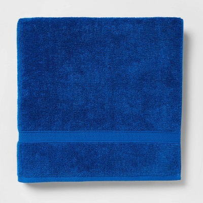 Soft Solid Bath Sheet Bright Blue - Opalhouse™