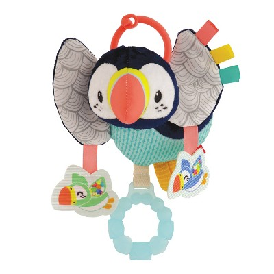 Infantino Go Gaga! Jittery Puffin Baby Toy