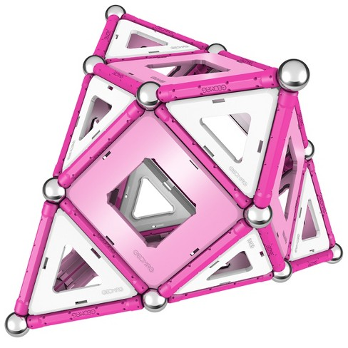 Geomag Pink Panels - 104pc Magnetic Construction Set - image 1 of 21