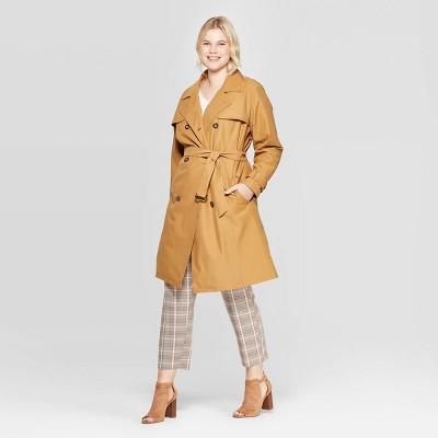 Women's Plus Size Trench Coat   Ava & Viv™ by Ava & Viv