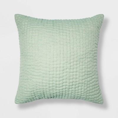 Euro Kantha Stitch Decorative Throw Pillow - Threshold™