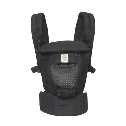 c5c0580f051 Ergobaby Adapt Ergonomic Multi-Position Cool Air Mesh Baby Carrier - Onyx  Black   Target