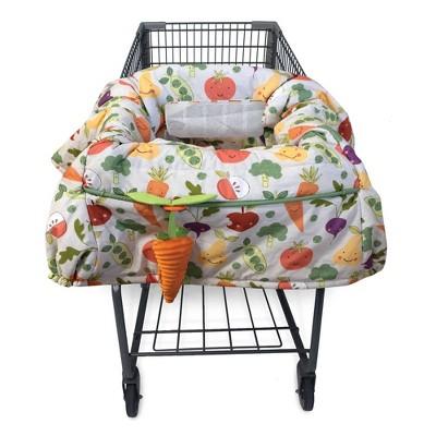 Boppy Shopping Cart and Restaurant High Chair Cover - Farmers Market