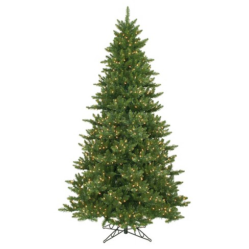 About this item - 9ft Pre-Lit Artificial Christmas Tree Full Chartreuse - Green Lights