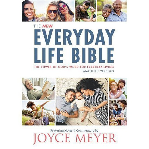 The Everyday Life Bible - by  Joyce Meyer (Hardcover) - image 1 of 1