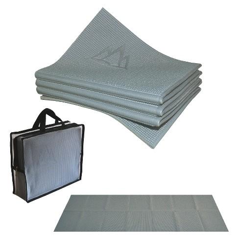 Khataland YoFoMat Travel Yoga Mat XL - Gray (4mm) - image 1 of 1