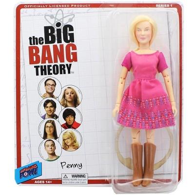 "Bif Bang Pow Big Bang Theory 8"" Retro Clothed Action Figure, Penny"