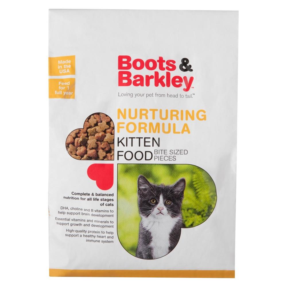 Nurturing Formula Dry Kitten Food 3 15 Lbs Boots Barkley 8482