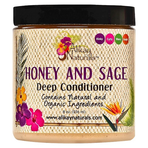 Alikay Naturals Honey and Sage Deep Conditioner - 8oz - image 1 of 2