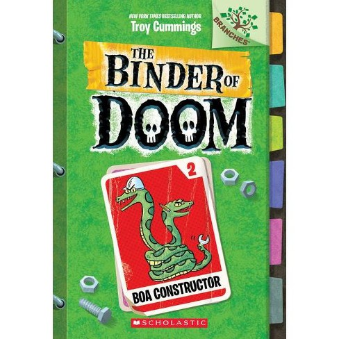 Boa Constructor: A Branches Book (the Binder of Doom #2), Volume 2 - by  Troy Cummings (Paperback) - image 1 of 1