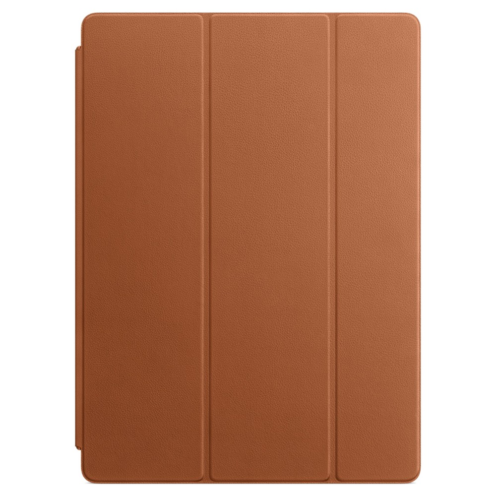 Apple Leather Smart Cover for 12.9 iPad Pro - Saddle Brown