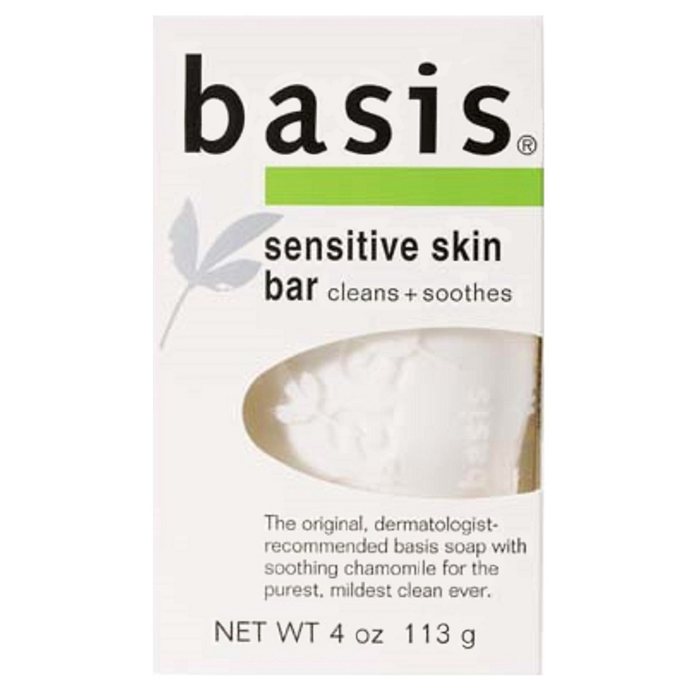 Image of Unscented Basis Sensitive Skin Bar Soap - 4oz
